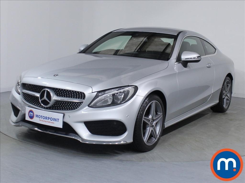 Mercedes-Benz C Class AMG Line - Stock Number 1075655 Passenger side front corner