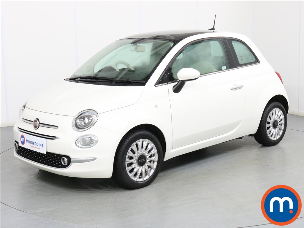Fiat 500 Lounge - Stock Number 1076431 Passenger side front corner