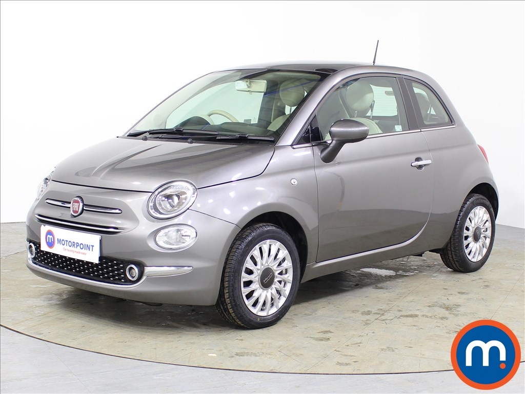 Fiat 500 Lounge - Stock Number 1075778 Passenger side front corner