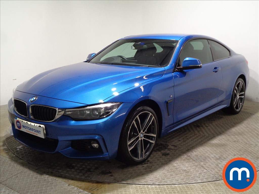 BMW 4 Series M Sport - Stock Number 1074664 Passenger side front corner