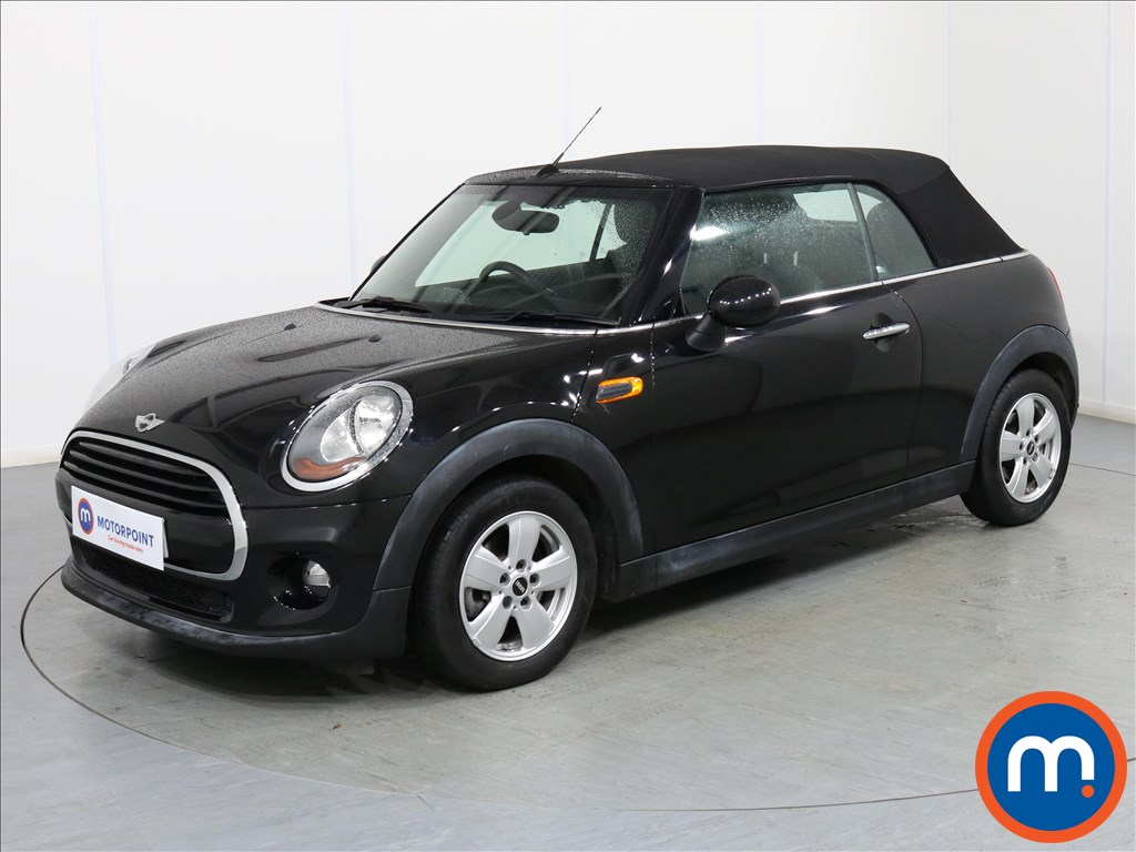 Mini Convertible Cooper - Stock Number 1075358 Passenger side front corner