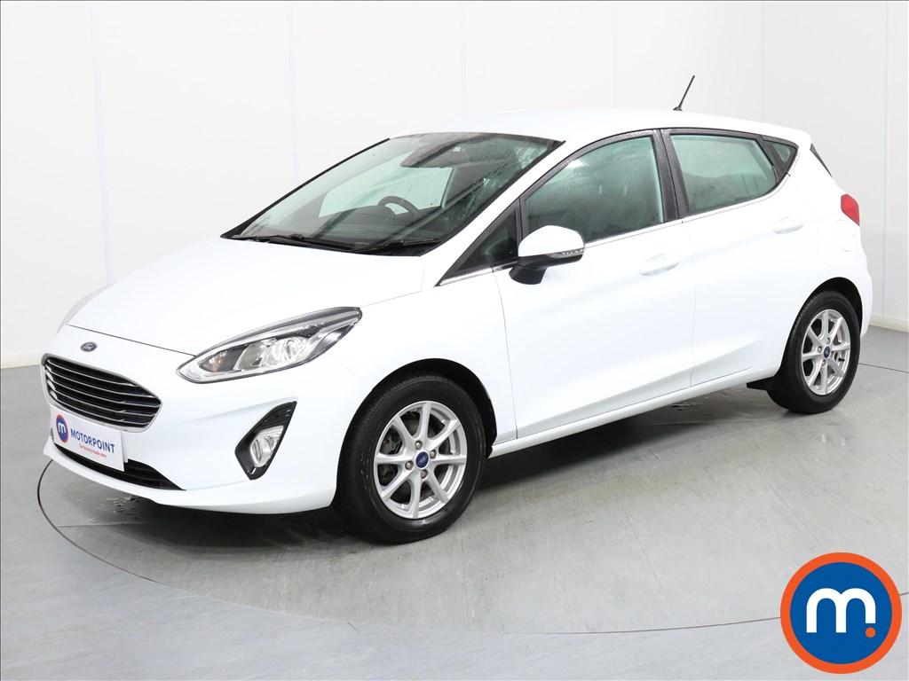 Ford Fiesta Zetec - Stock Number 1075833 Passenger side front corner