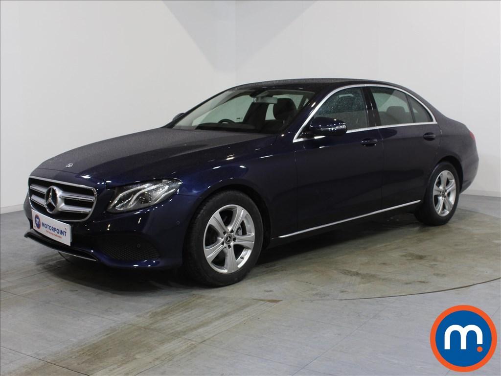 Mercedes-Benz E Class SE - Stock Number 1075535 Passenger side front corner
