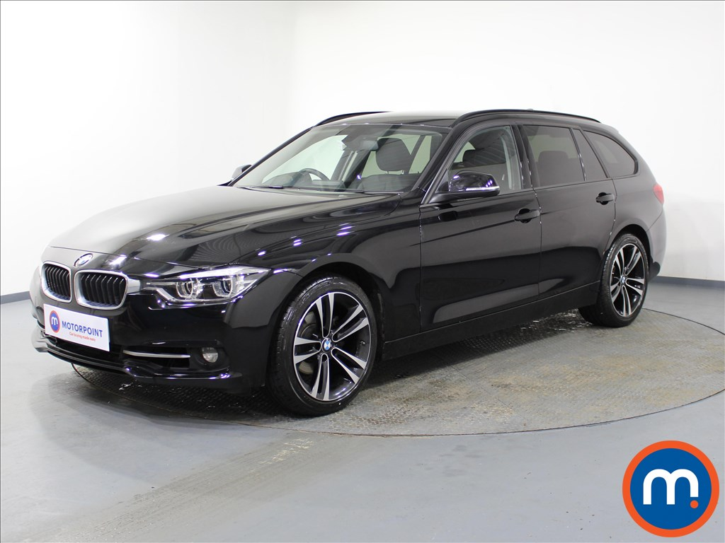 BMW 3 Series Sport - Stock Number 1071977 Passenger side front corner