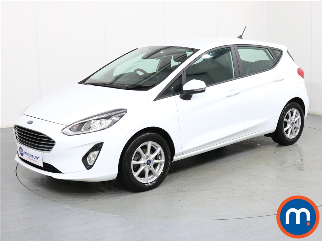 Ford Fiesta Zetec - Stock Number 1075066 Passenger side front corner