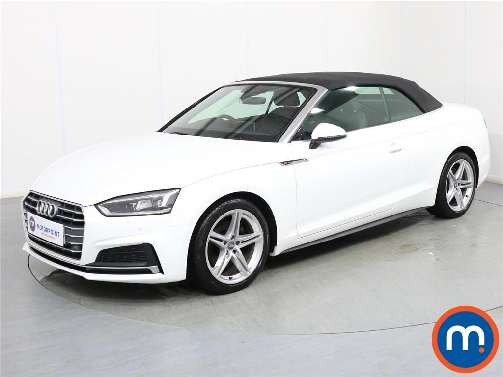Audi A5 S Line - Stock Number 1076487 Passenger side front corner