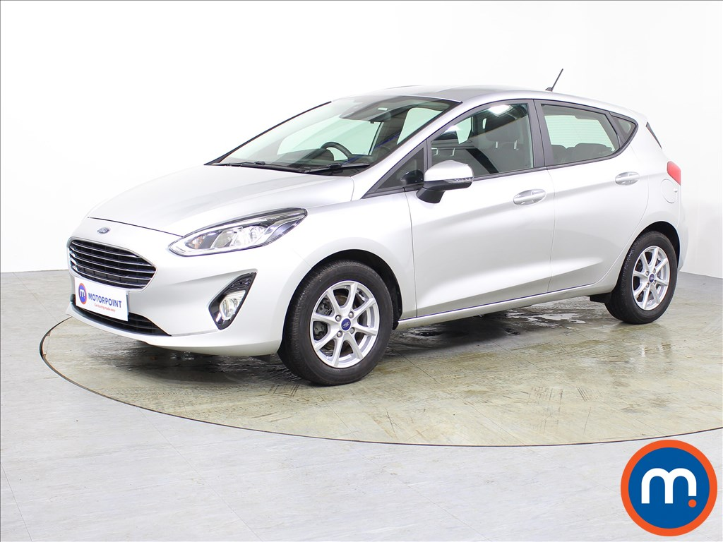 Ford Fiesta Zetec - Stock Number 1075065 Passenger side front corner
