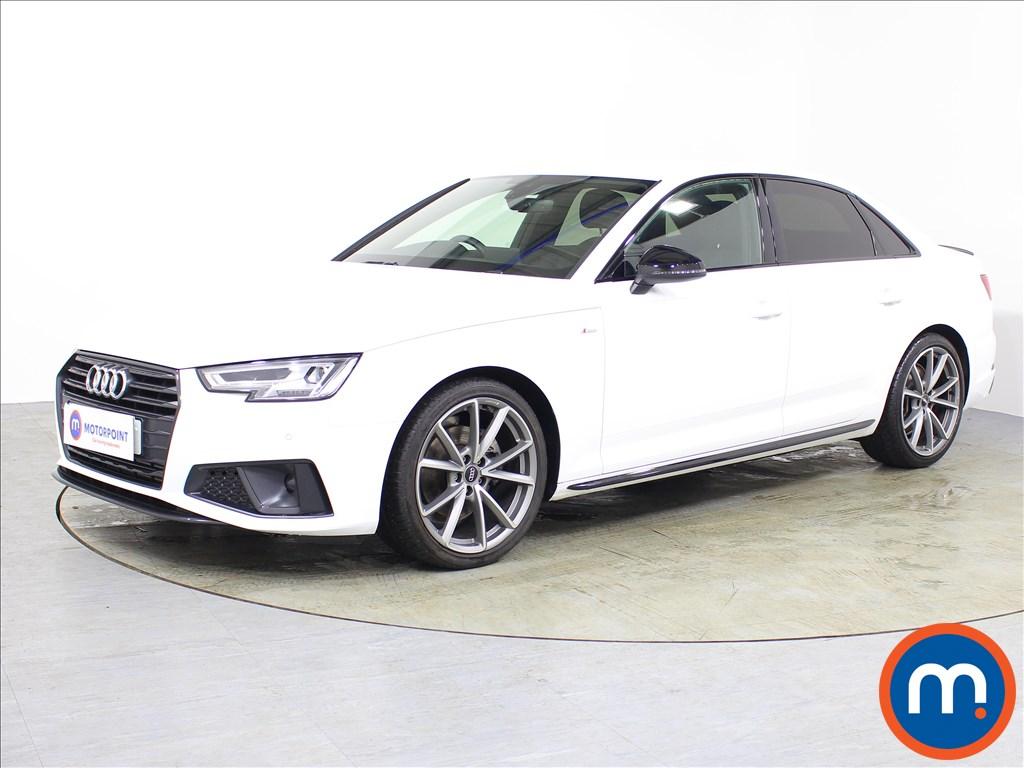 Audi A4 Black Edition - Stock Number 1073717 Passenger side front corner