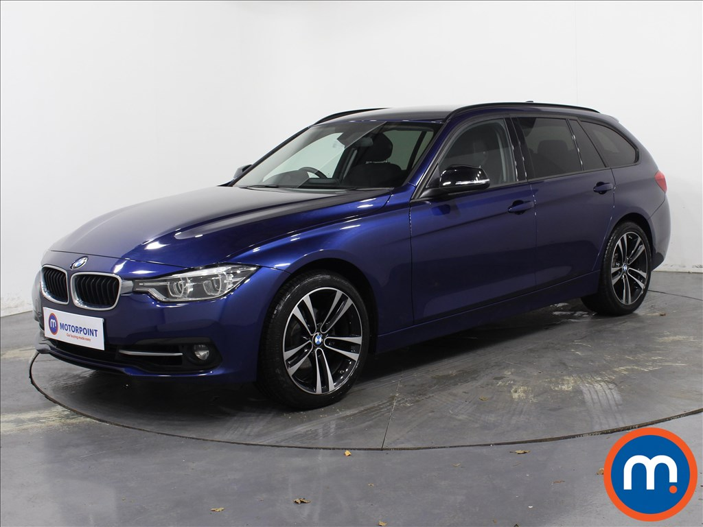 BMW 3 Series Sport - Stock Number 1071986 Passenger side front corner