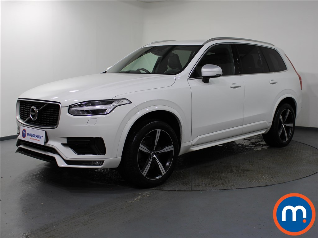 Volvo Xc90 R DESIGN - Stock Number 1076946 Passenger side front corner
