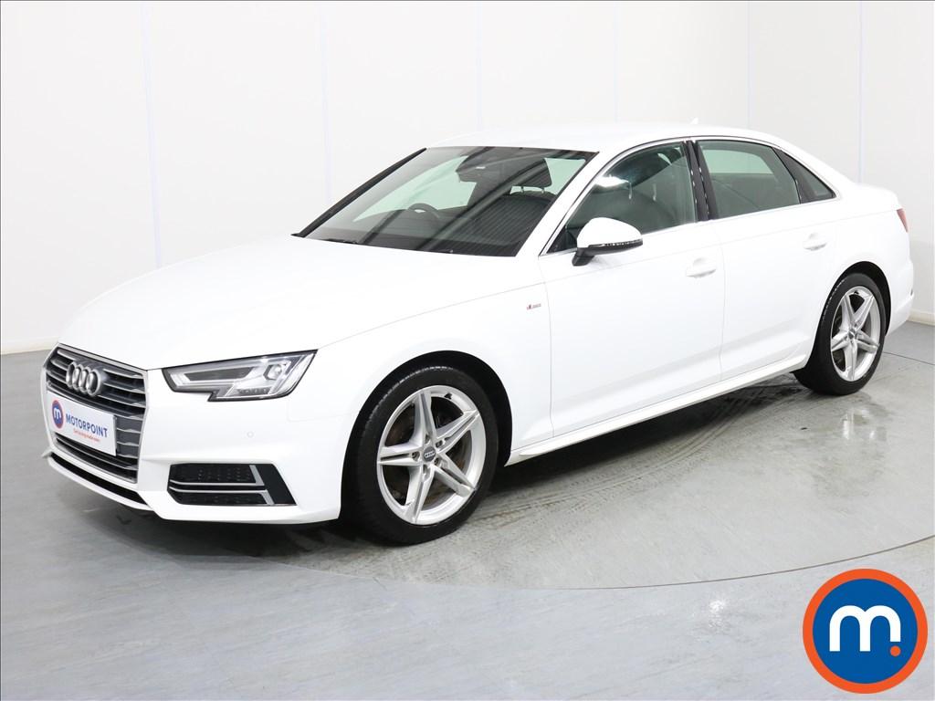 Audi A4 S Line - Stock Number 1076475 Passenger side front corner