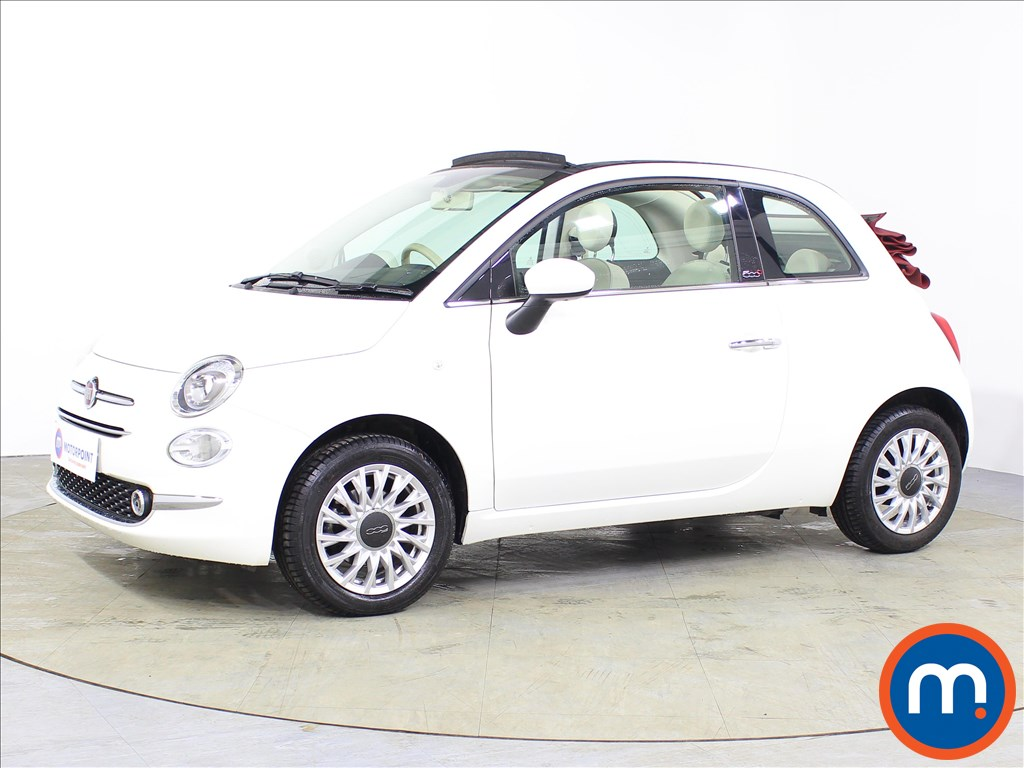 Fiat 500 Lounge - Stock Number 1077551 Passenger side front corner