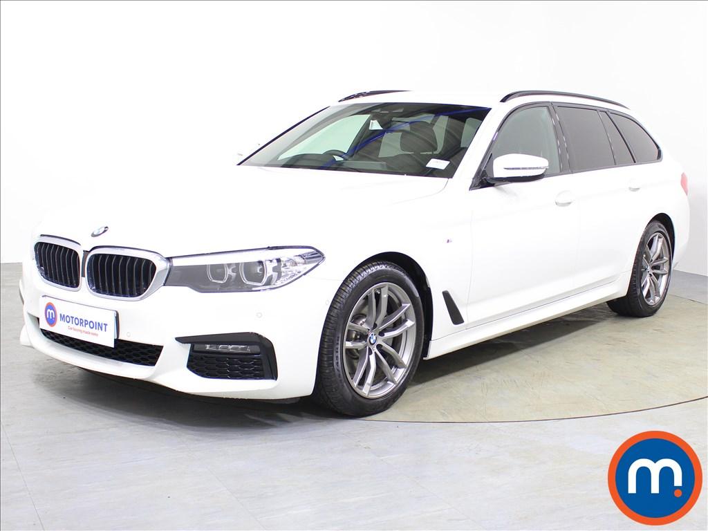 BMW 5 Series M Sport - Stock Number 1072898 Passenger side front corner