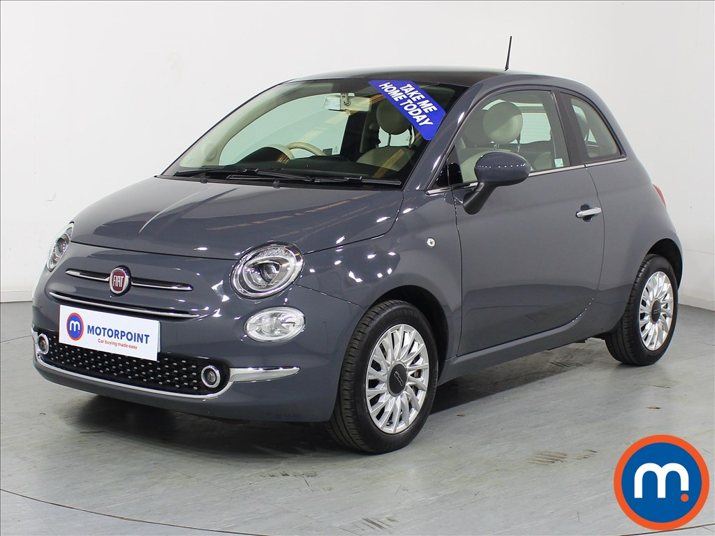 Fiat 500 Lounge - Stock Number 1077798 Passenger side front corner