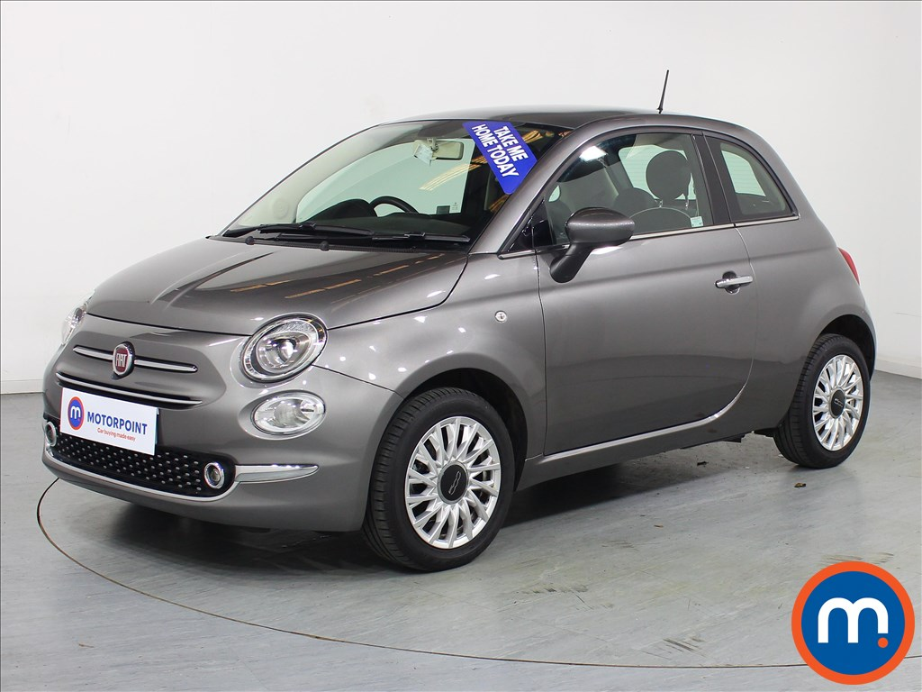 Fiat 500 Lounge - Stock Number 1077052 Passenger side front corner
