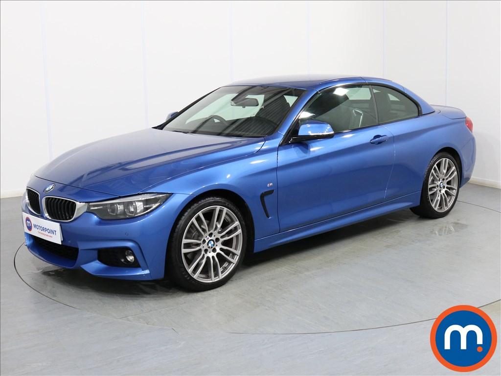 BMW 4 Series M Sport - Stock Number 1077165 Passenger side front corner