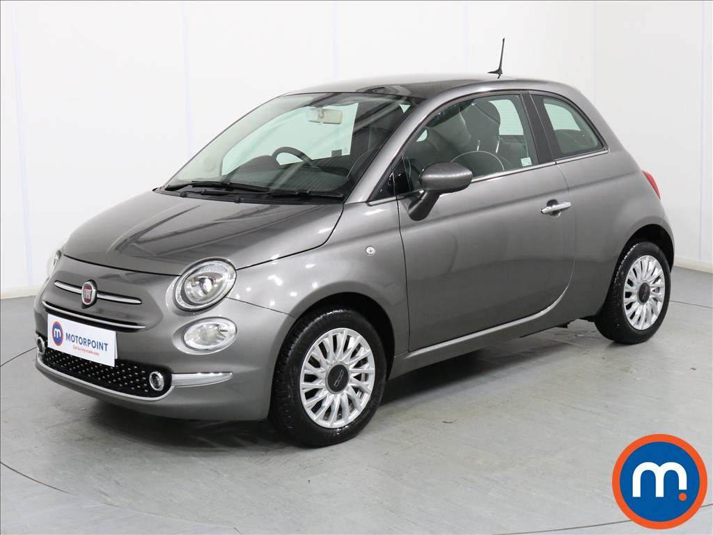 Fiat 500 Lounge - Stock Number 1077901 Passenger side front corner