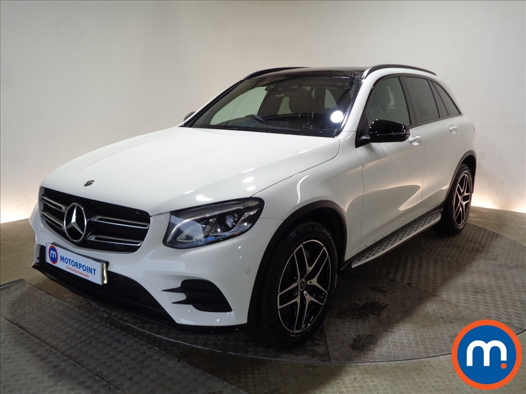 Mercedes-Benz GLC Night Edition - Stock Number 1076849 Passenger side front corner