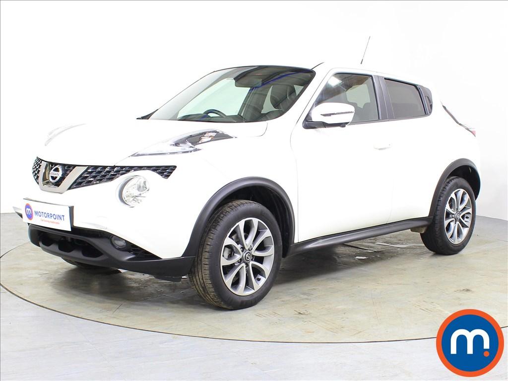 Nissan Juke Tekna - Stock Number 1077833 Passenger side front corner