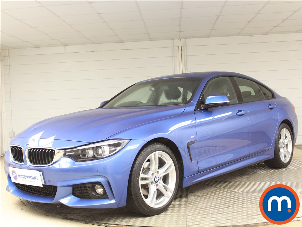 BMW 4 Series M Sport - Stock Number 1078426 Passenger side front corner