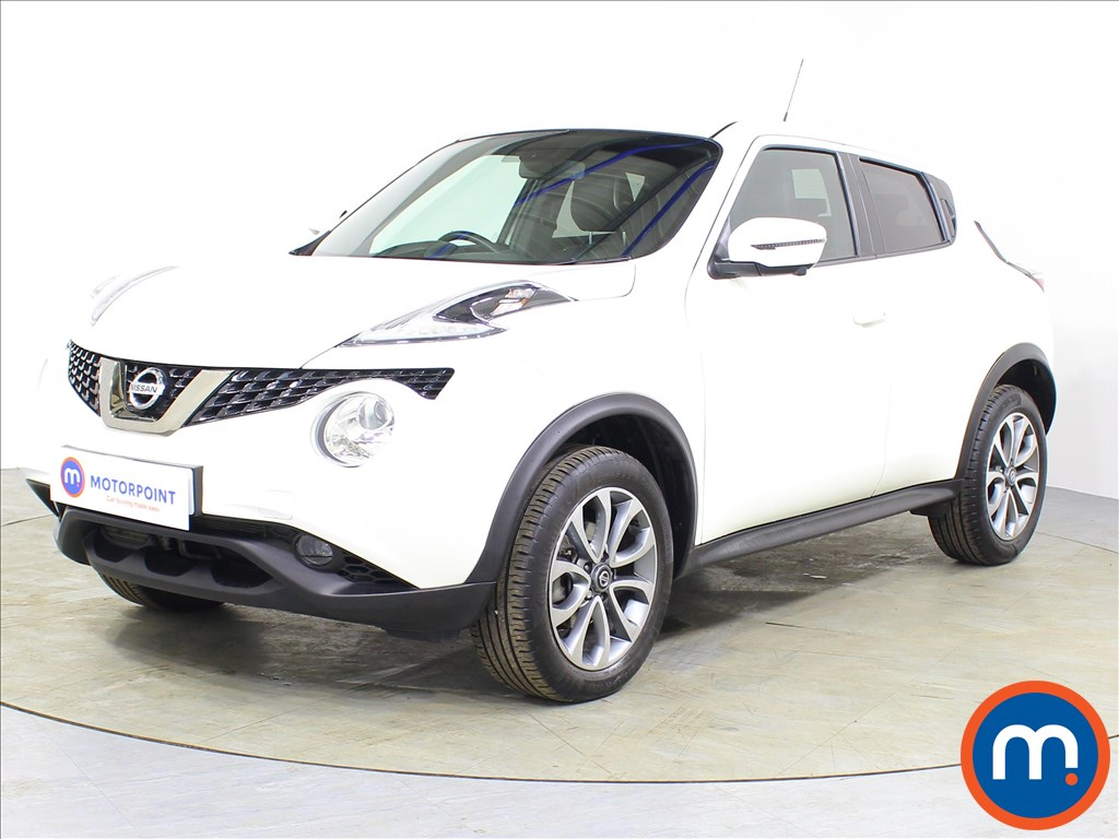 Nissan Juke Tekna - Stock Number 1077825 Passenger side front corner