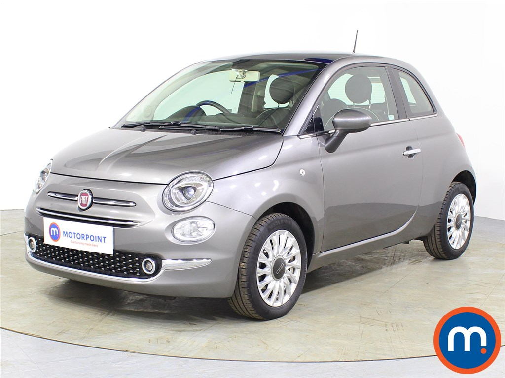 Fiat 500 Lounge - Stock Number 1077806 Passenger side front corner