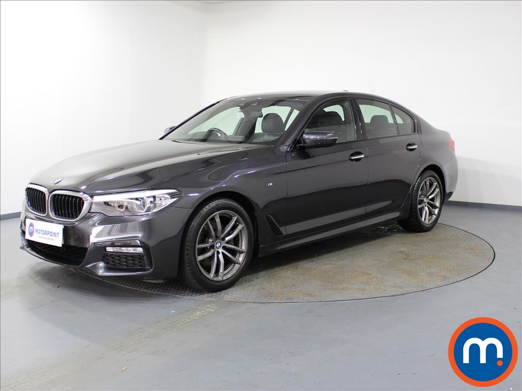 BMW 5 Series M Sport - Stock Number 1078369 Passenger side front corner