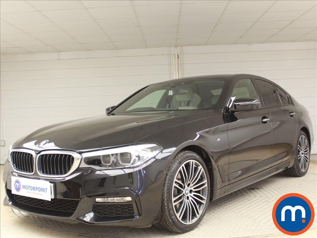 BMW 5 Series M Sport - Stock Number 1073372 Passenger side front corner