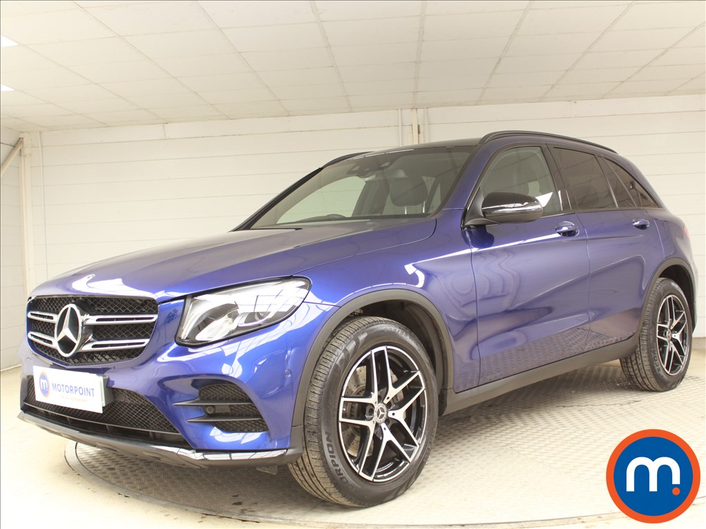 Mercedes-Benz GLC Night Edition - Stock Number 1073612 Passenger side front corner