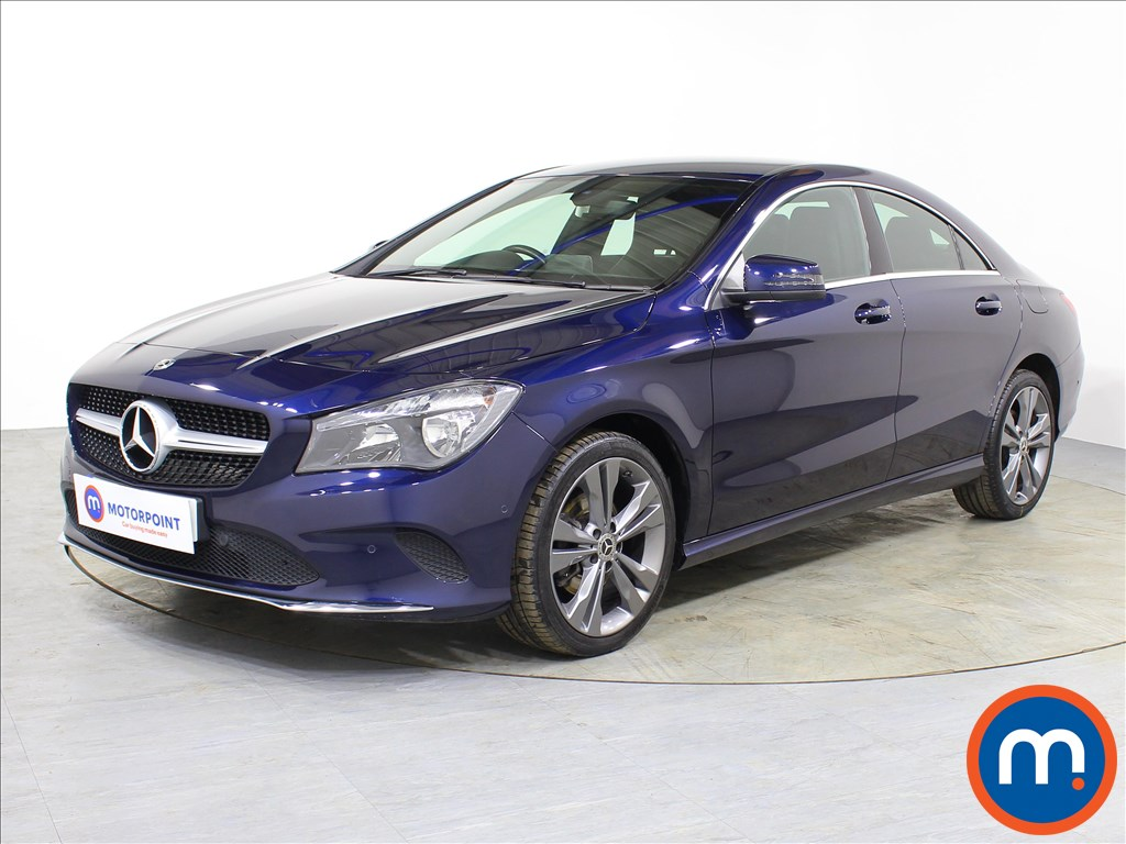 Mercedes-Benz Cla Class Sport - Stock Number 1079866 Passenger side front corner