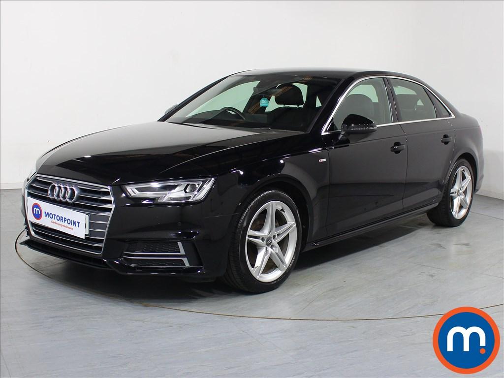 Audi A4 S Line - Stock Number 1072883 Passenger side front corner