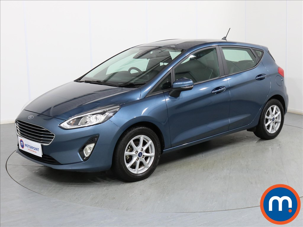 Ford Fiesta Zetec - Stock Number 1077769 Passenger side front corner