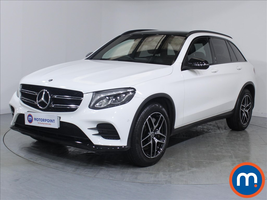 Mercedes-Benz GLC Night Edition - Stock Number 1072232 Passenger side front corner