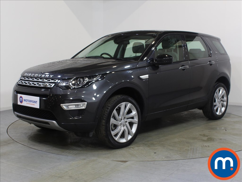 Land Rover Discovery Sport HSE Luxury - Stock Number 1073845 Passenger side front corner