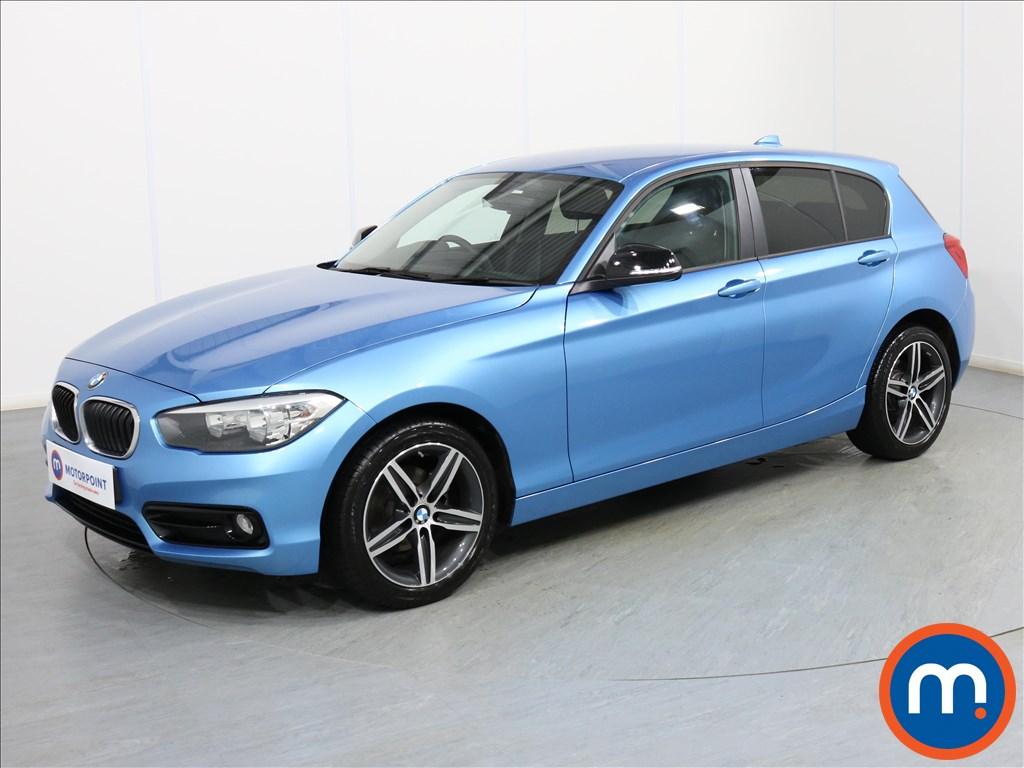 BMW 1 Series Sport - Stock Number 1074571 Passenger side front corner