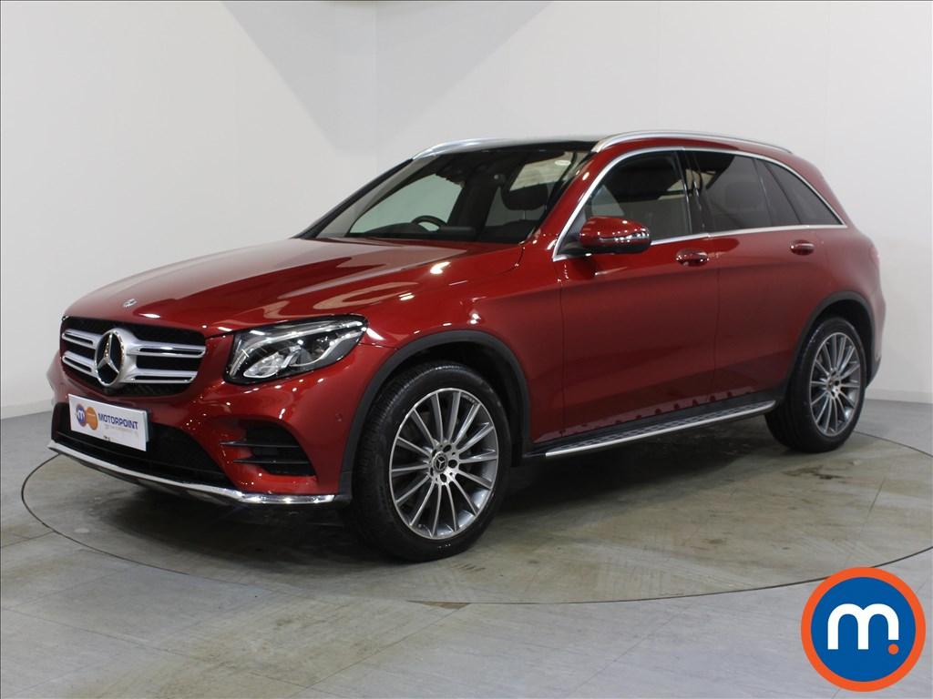 Mercedes-Benz GLC AMG Line - Stock Number 1076348 Passenger side front corner