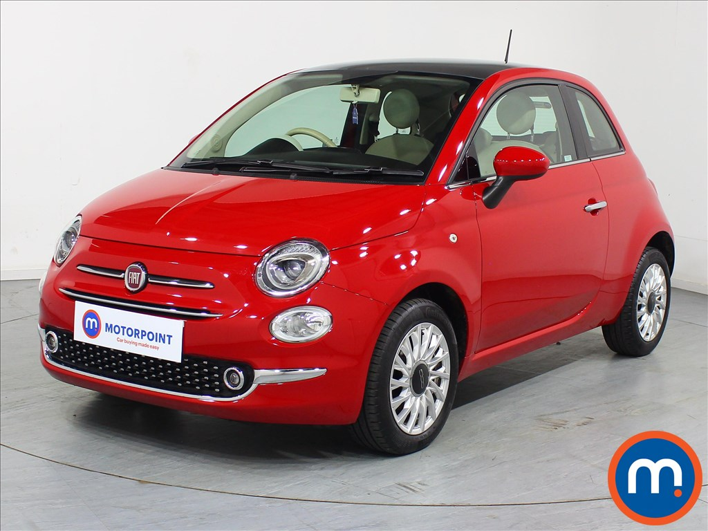 Fiat 500 Lounge - Stock Number 1080444 Passenger side front corner