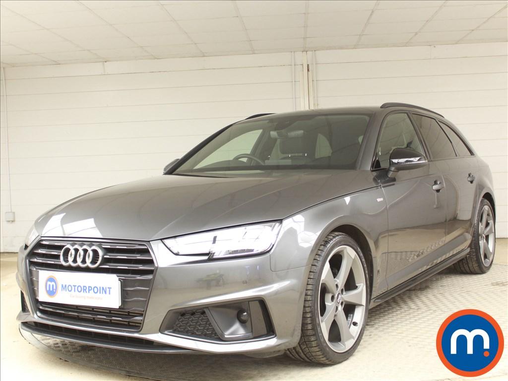 Audi A4 Black Edition - Stock Number 1080972 Passenger side front corner