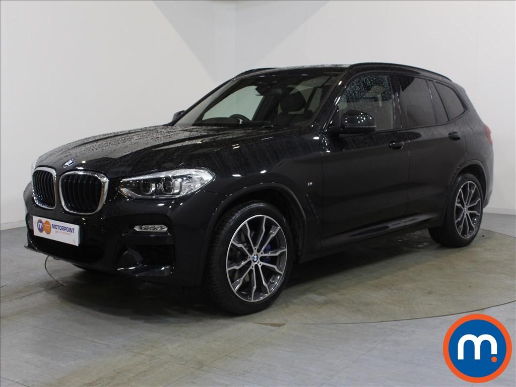 BMW X3 M Sport - Stock Number 1073621 Passenger side front corner