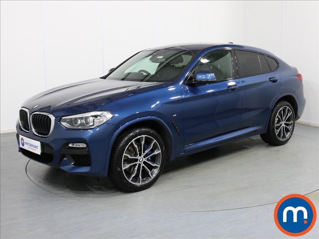 BMW X4 M Sport - Stock Number 1075769 Passenger side front corner