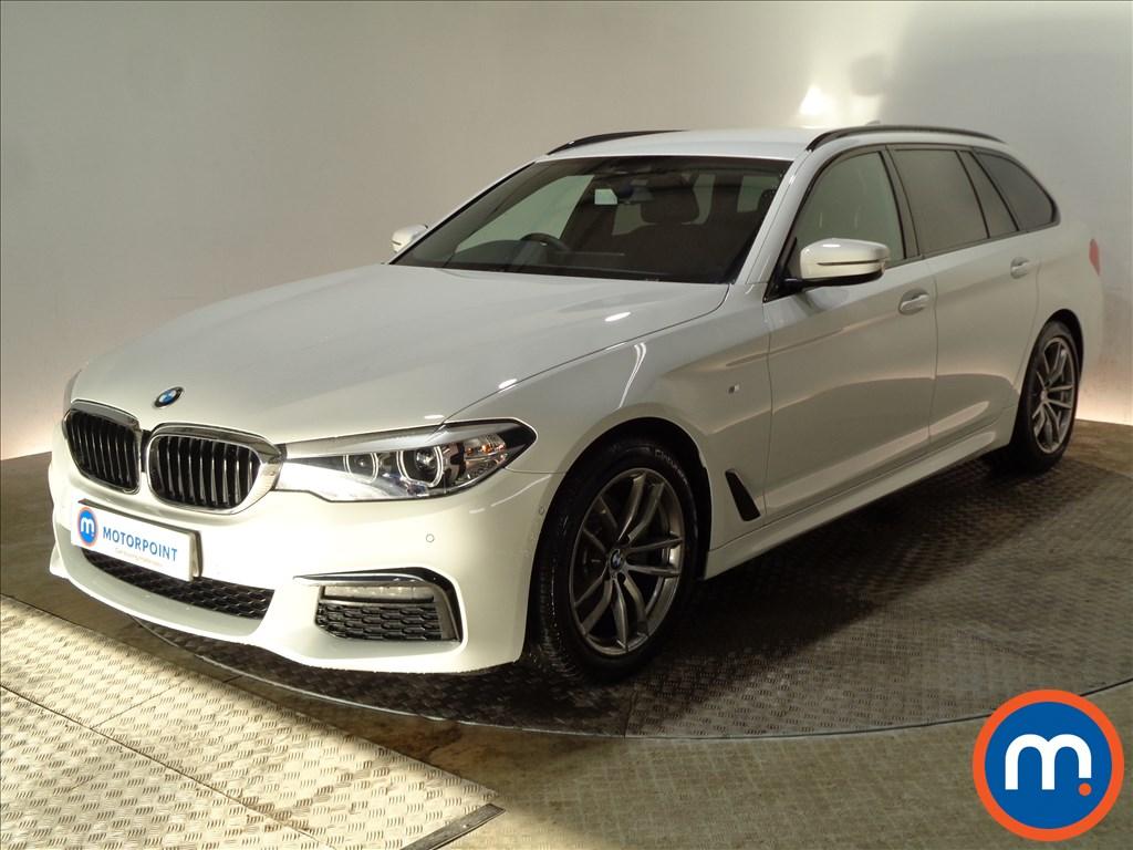 BMW 5 Series M Sport - Stock Number 1075763 Passenger side front corner