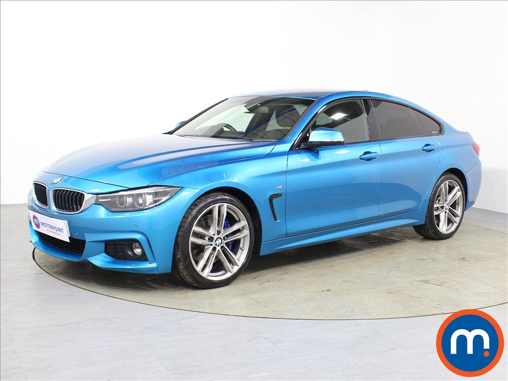 BMW 4 Series M Sport - Stock Number 1075241 Passenger side front corner
