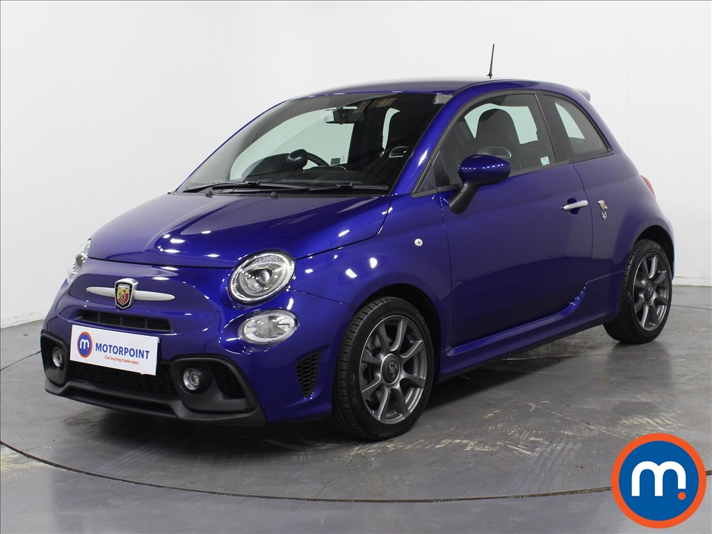 Abarth 595 1.4 T-Jet 145 3dr - Stock Number 1078210 Passenger side front corner