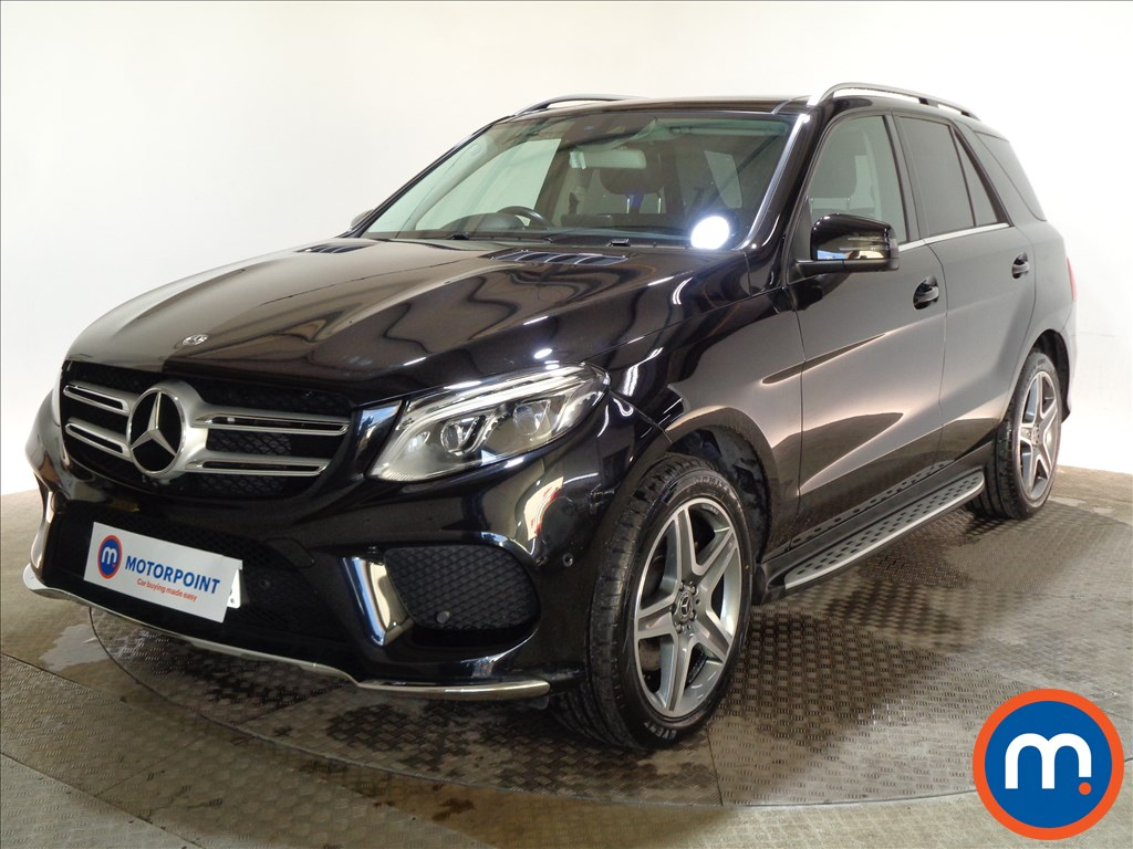 Mercedes-Benz GLE AMG Line - Stock Number 1078525 Passenger side front corner