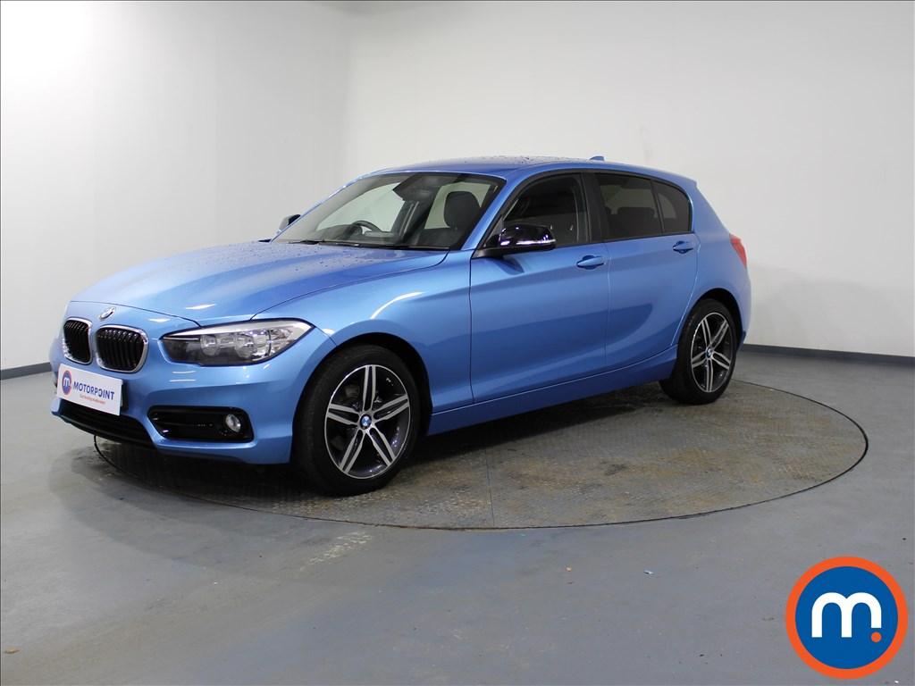 BMW 1 Series Sport - Stock Number 1074530 Passenger side front corner