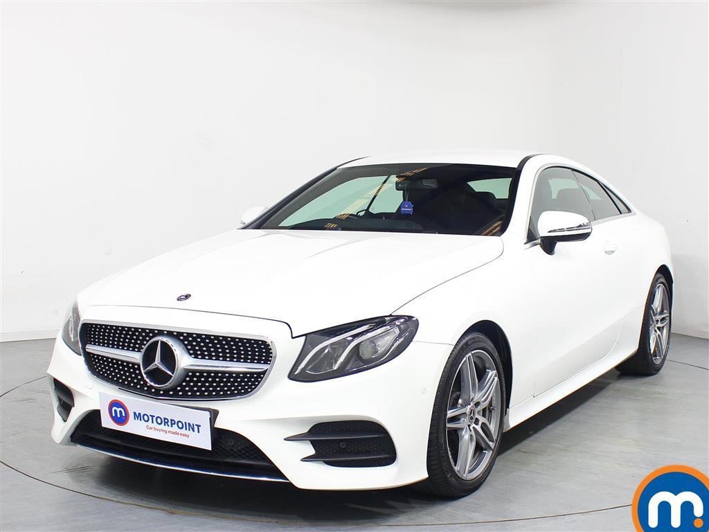 Mercedes-Benz E Class AMG Line - Stock Number 1077294 Passenger side front corner