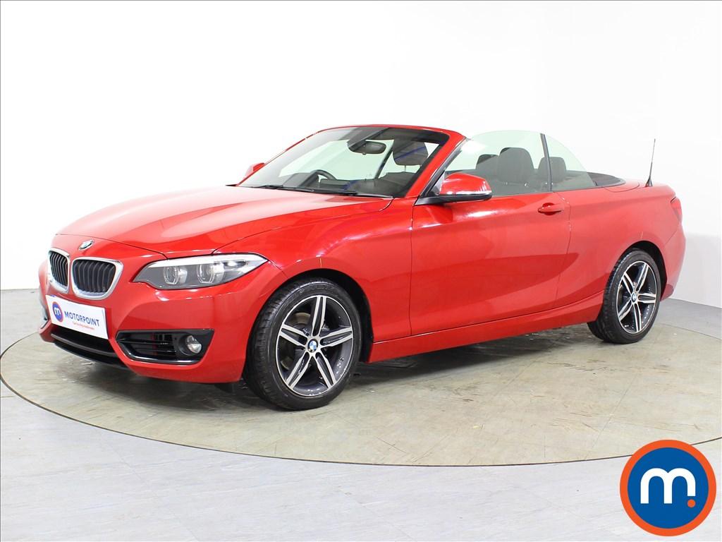 BMW 2 Series Sport - Stock Number 1079462 Passenger side front corner