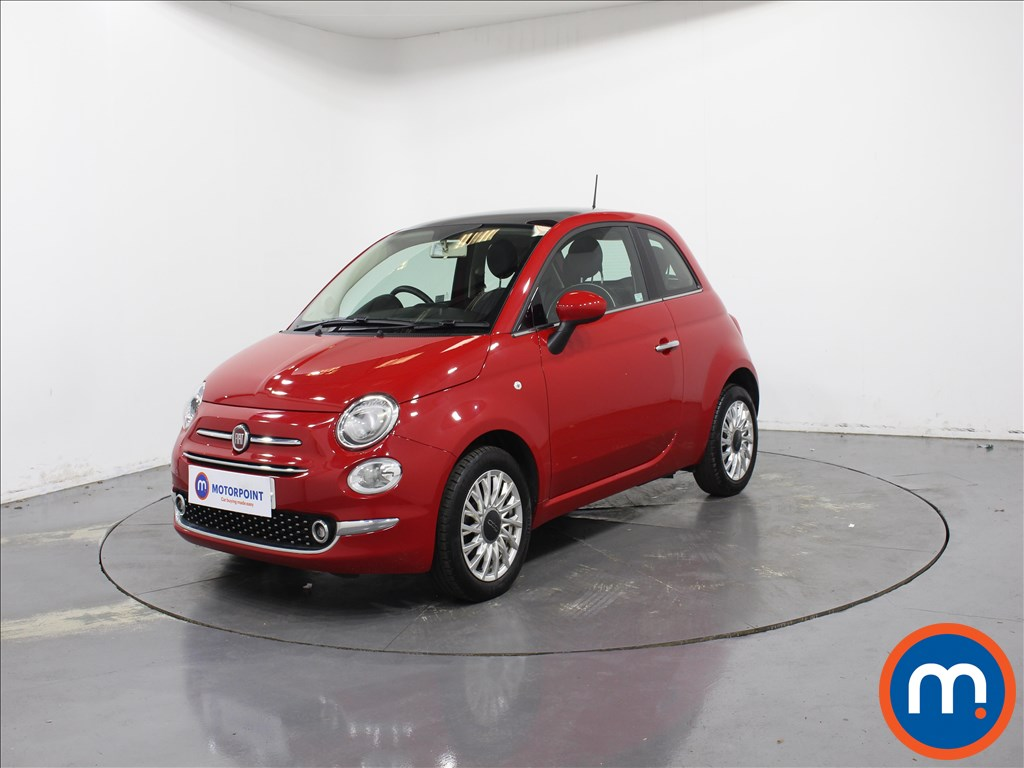 Fiat 500 Lounge - Stock Number 1077966 Passenger side front corner