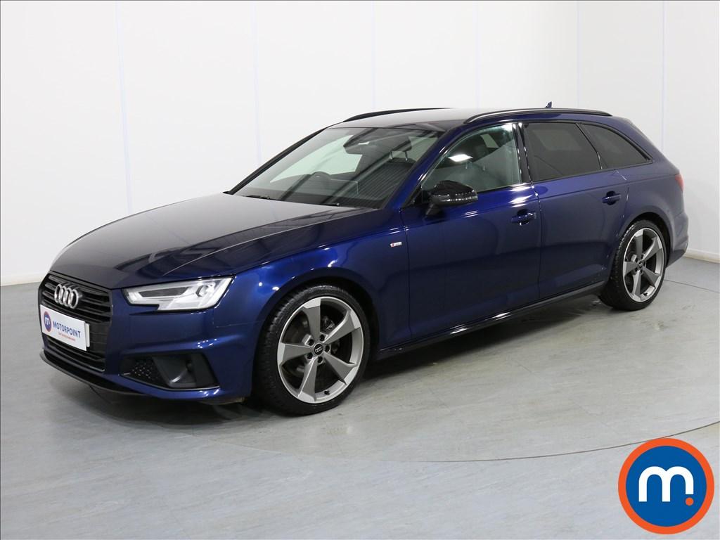 Audi A4 Black Edition - Stock Number 1078152 Passenger side front corner