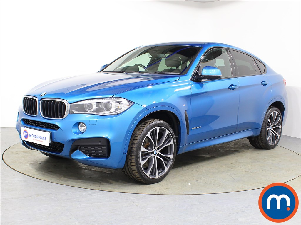BMW X6 M Sport Edition - Stock Number 1075777 Passenger side front corner